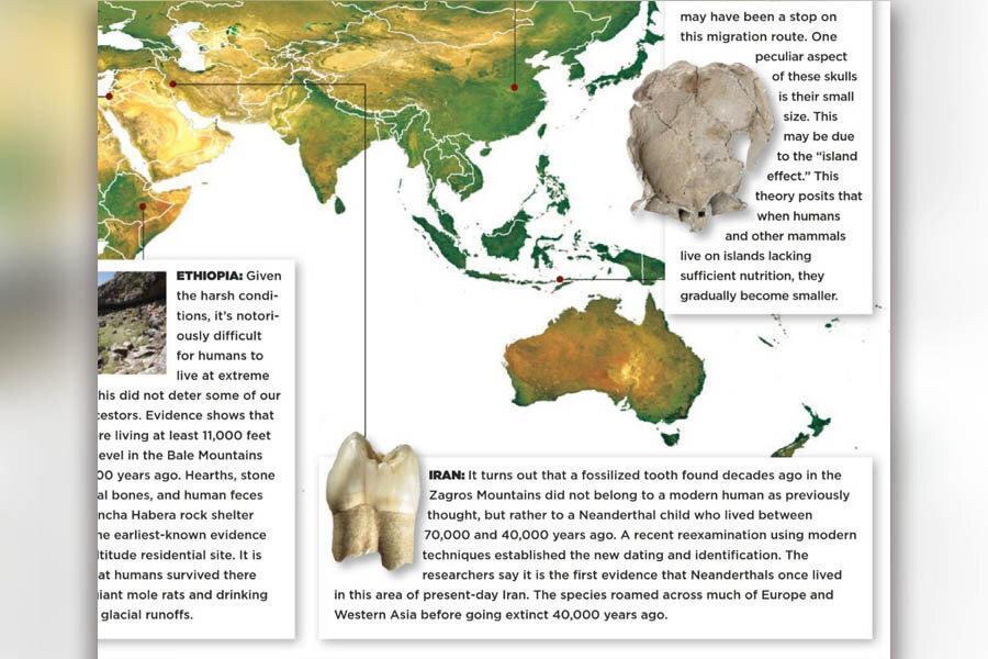 یک کشف باستان شناسی ایران در میان 10 کشف برتر اخیر دنیا ، دندان انسان نئاندرتال غار وزمه کرمانشاه دنیای شد