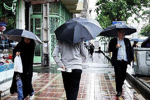 پیش بینی کم شدن بارش ها برای یک هفته