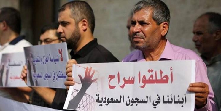 خانواده های زندانیان اردنی در عربستان، مقابل وزارت خارجه اردن تجمع می نمایند