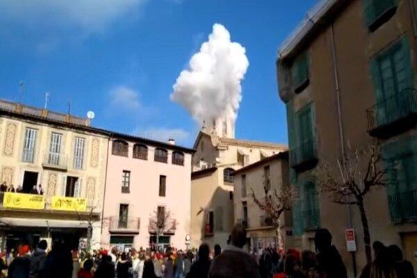 انفجار در اسپانیا 14 زخمی برجای گذاشت
