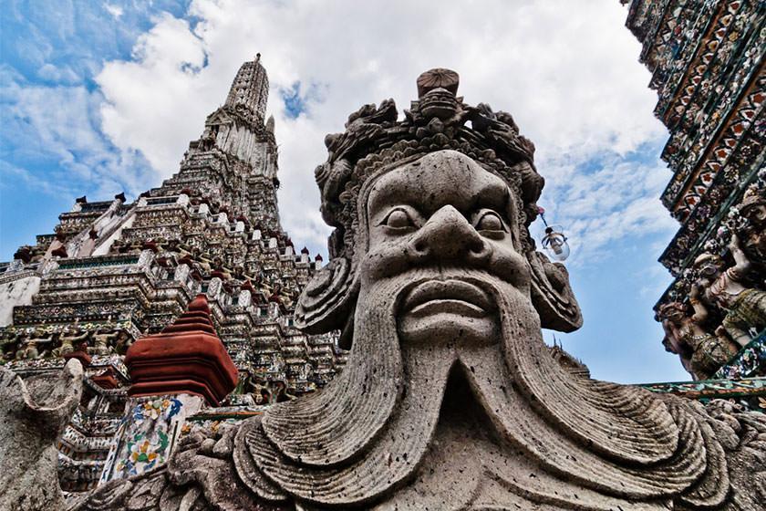 زیباترین مجسمه هایی که می توانید در معابد تایلند ببینید