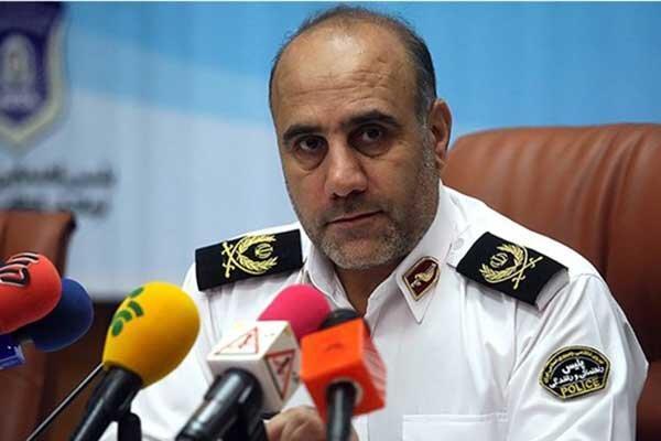 ریئس پلیس تهران اطلاع داد: امنیت کامل در پایتخت