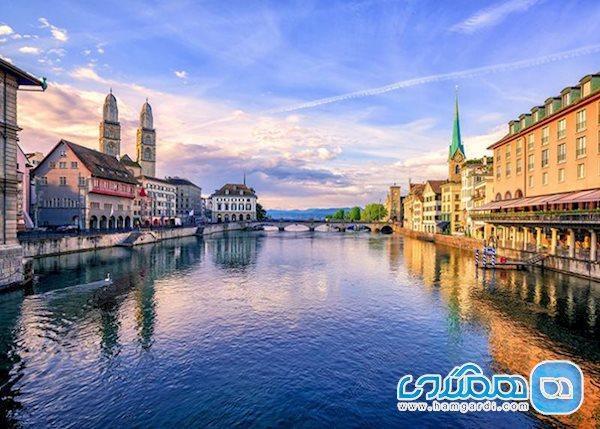آشنایی مختصر با دیدنی ترین شهرهای کوچک سوئیس
