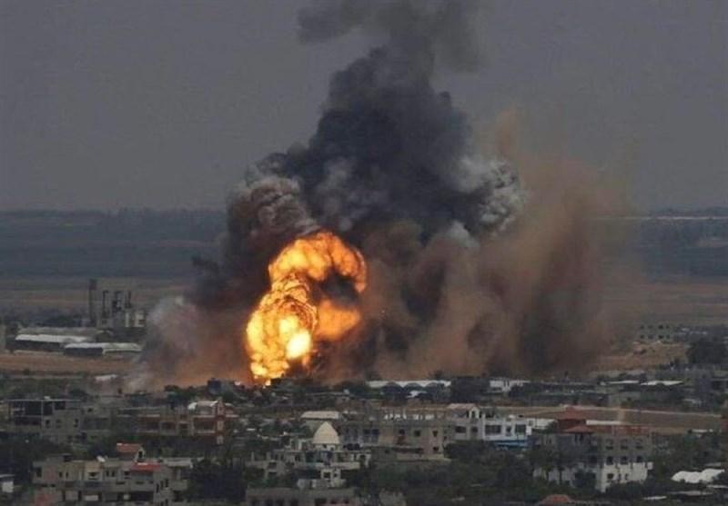 حملات سنگین موشکی و خمپاره ای و توپخانه ای سعودی به غرب یمن