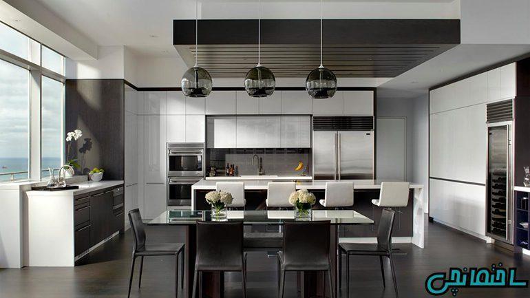 چگونه آشپزخانه مدرن داشته باشیم!