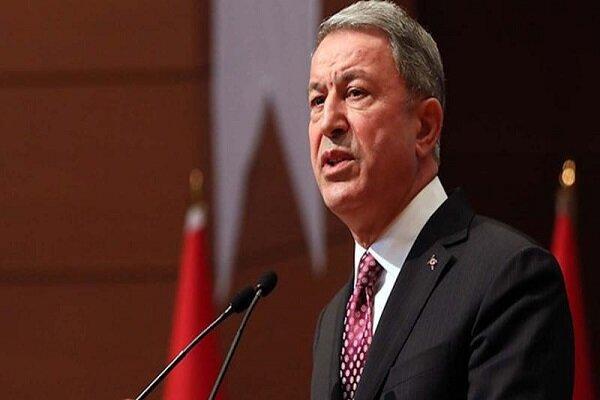 وزیر دفاع ترکیه شرط خروج ارتش این کشور از سوریه را گفت