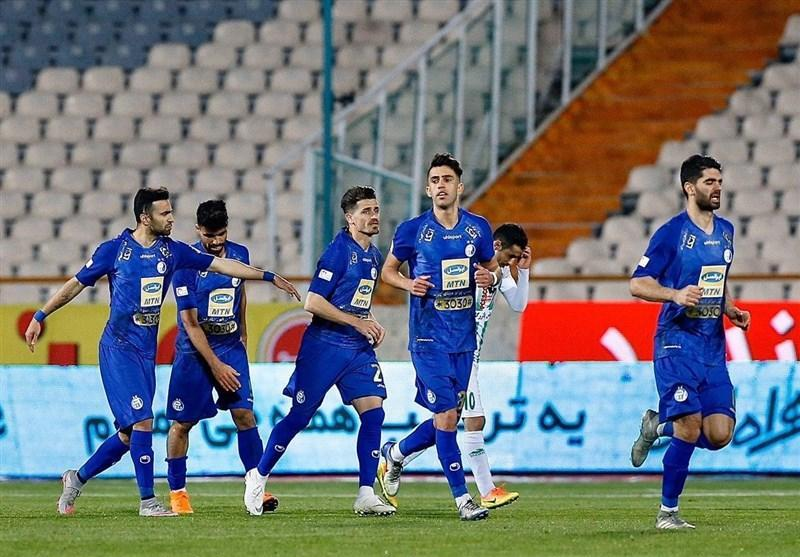 لیگ برتر فوتبال، استقلال با شکست ذوب آهن جای سپاهان را گرفت
