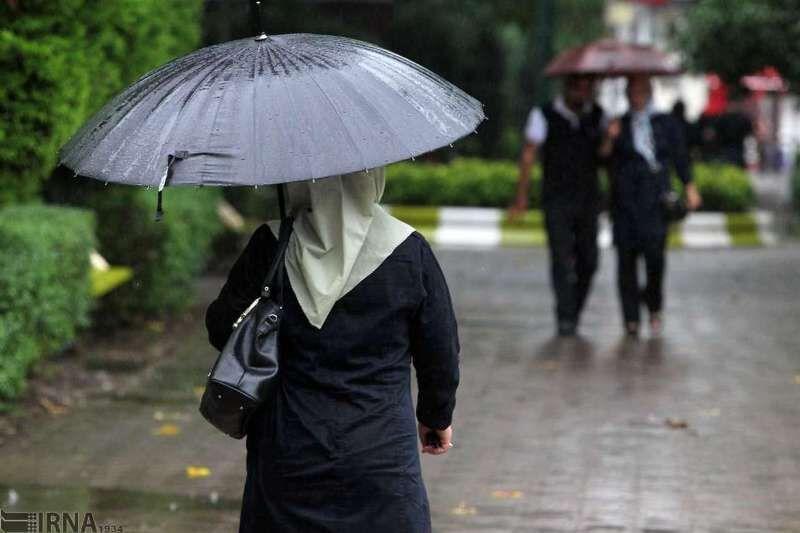 خبرنگاران روستای مهمانک بیشترین بارش باران را در خراسان شمالی داشت