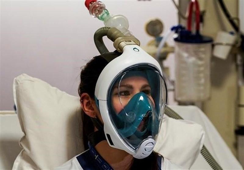 استفاده از ماسک غواضی به جای ماسک پزشکی در اروپا