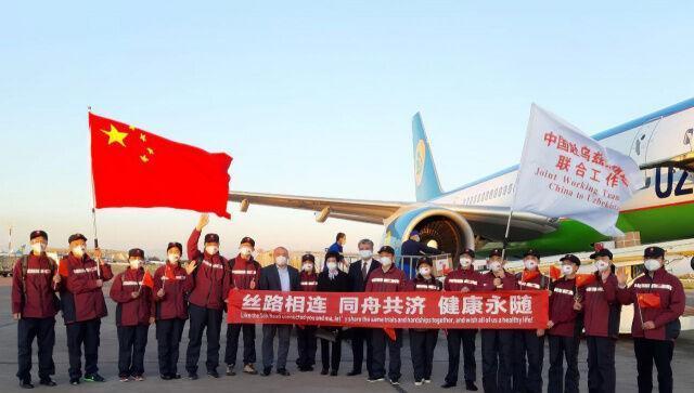 تیم پزشکی چین برای مقابله با کرونا وارد ازبکستان شد