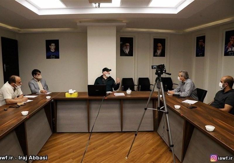 برگزاری جلسه مسئولان انستیتو کشتی با رئیس کمیسیون پزشکی اتحادیه جهانی
