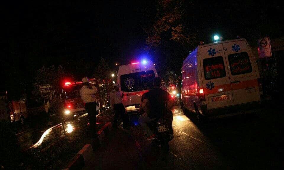 خبرنگاران تهرانی ها در راستا منتهی به محل حادثه کلینیک سینا تردد نکنند