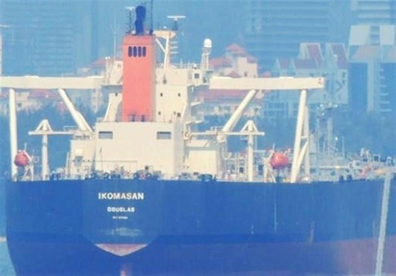 انفجار در یک نفتکش عظیم در سواحل سریلانکا