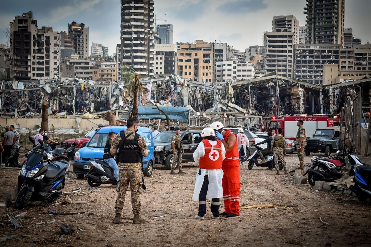 استاندار بیروت: قربانیان حادثه انفجار افزایش یافت