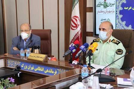 67هزار تذکر لسانی به افراد فاقد ماسک در تهران