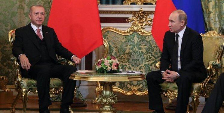 اردوغان و پوتین درباره قره باغ مصاحبه کردند