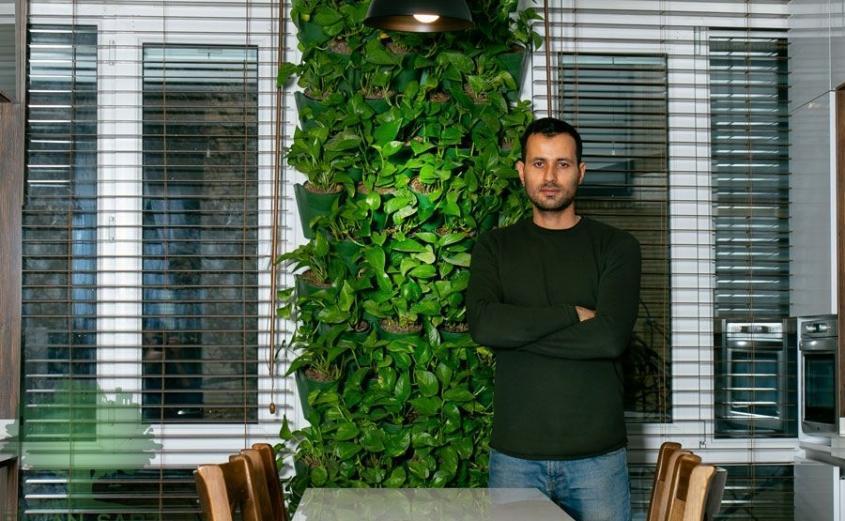طراحی داخلی ایده آل خانه با ایوان سبز