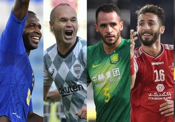 رقابت مهاجمان پرسپولیس و استقلال برای بهترین گل آسیا