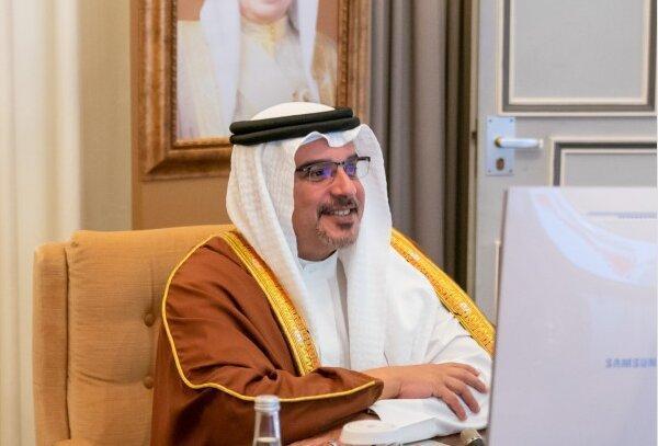 ملاقات فرمانده سنتکام با ولیعهد بحرین