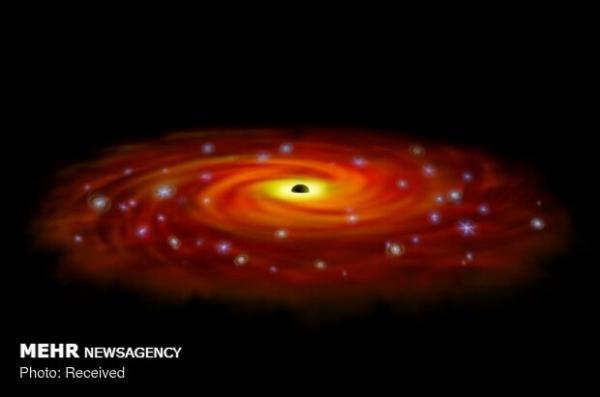 مشهورترین سیاهچاله دنیا بزرگ تر از تصورات پیشین است