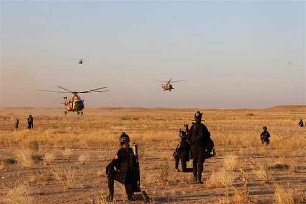 ارتش عراق مقادیری از تسلیحات تکفیری ها را کشف و ضبط کرد