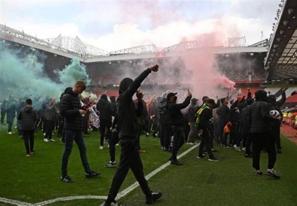 اعتراض طرفداران، بازی منچستریونایتد - لیورپول را لغو کرد