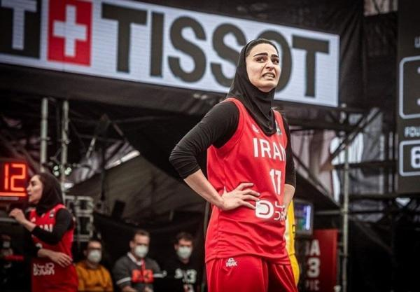 بسکتبال سه نفره انتخابی المپیک، شکست ایران مقابل استرالیا در چهارمین دیدار
