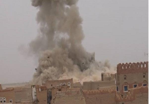 ادامه بمباران استان های مأرب و صعده یمن از سوی ائتلاف سعودی