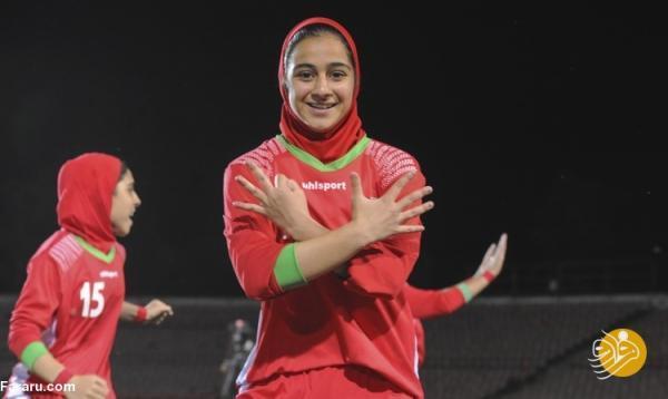خلاصه بازی فوتبال دختران ایران 3 ، 0 تاجیکستان