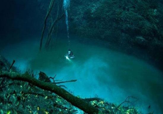 رودخانه ای باورنکردنی در زیر آب!