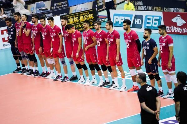 جام ملت های والیبال آسیا ، پیروزی راحت ایران مقابل چین تایپه