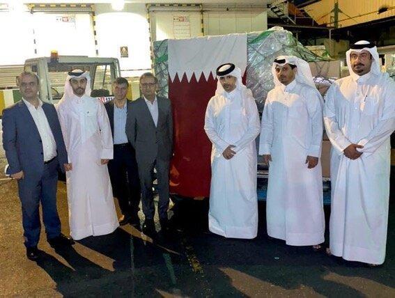 تور قطر: ارسال یاری های پزشکی قطر به ایران برای مقابله با کرونا